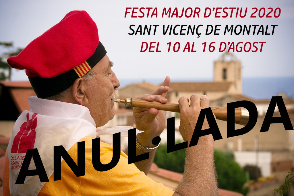 Anul·lada la Festa Major d'Estiu 2020