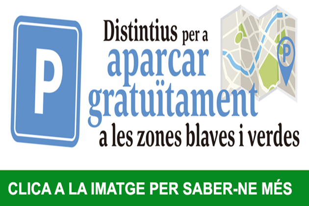 Distintiu zones blaves i verdes